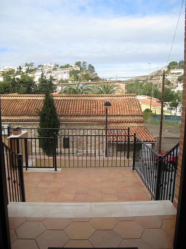 Terraza - Chalet en alquiler en Pueblo Español-Coveta Fumá en Campello (el) - 161026307