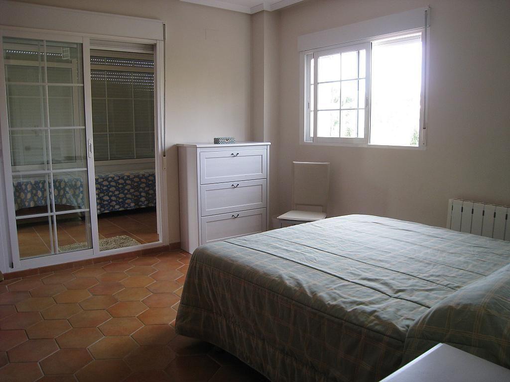 Dormitorio - Chalet en alquiler en Pueblo Español-Coveta Fumá en Campello (el) - 161026391