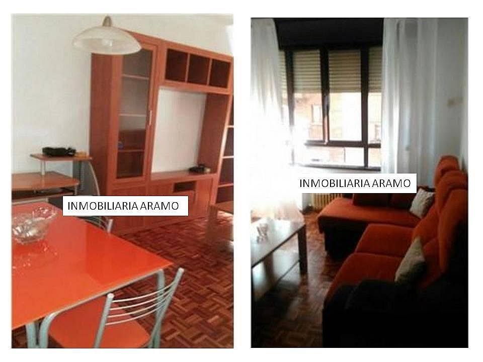 Salón - Piso en alquiler en calle Padre Aller, Ciudad Naranco en Oviedo - 215956496