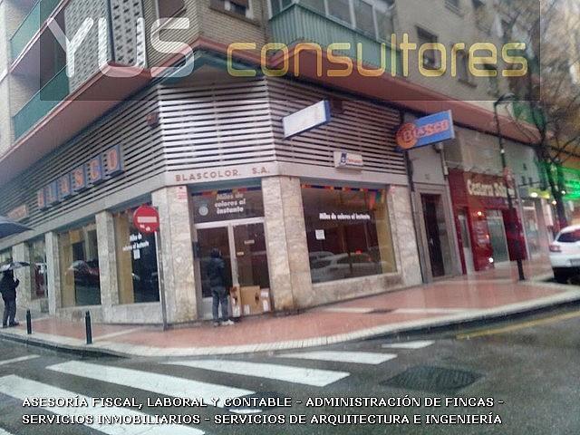Local en alquiler opción compra en calle Sangenis, Delicias en Zaragoza - 256412929