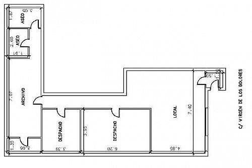 - Local en alquiler en calle Virgen de Los Dolores, Alhama de Murcia - 188273852
