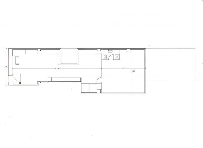 Plano - Local en alquiler en calle Joaquin Costa, Valencia - 72416566