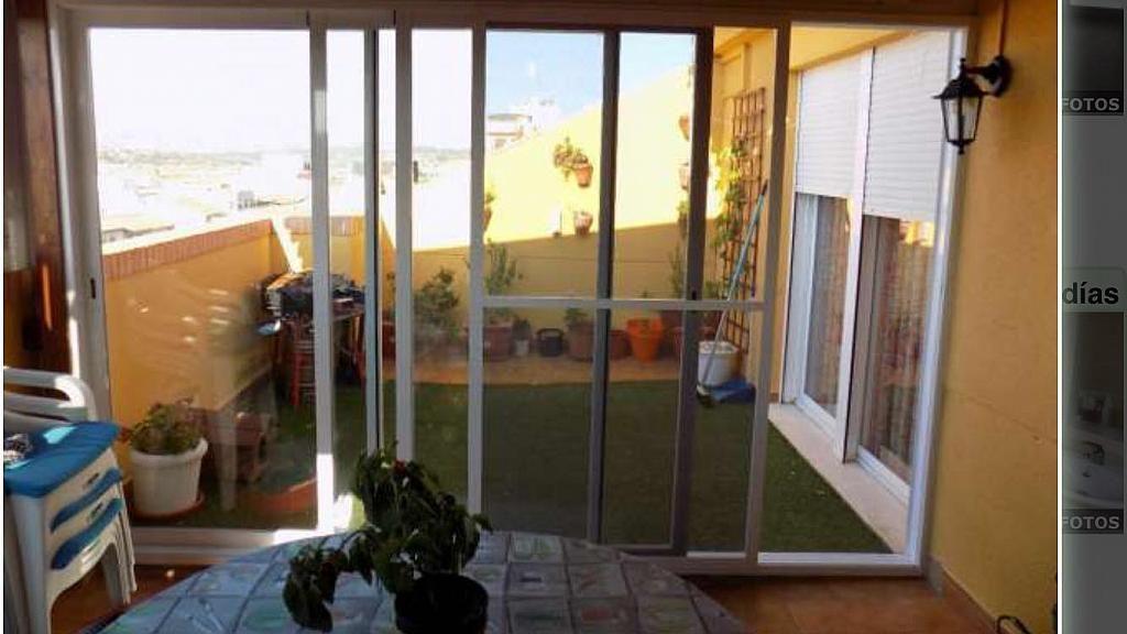 Terraza - Ático en alquiler en calle Ingeniero Antonio Llombart, Monserrat - 252482829