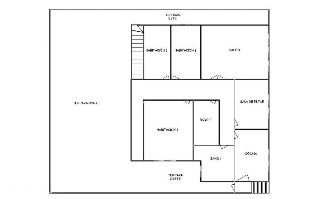 Casa en alquiler opción compra en calle Burgos, Aguilar de Campoo - 268236931