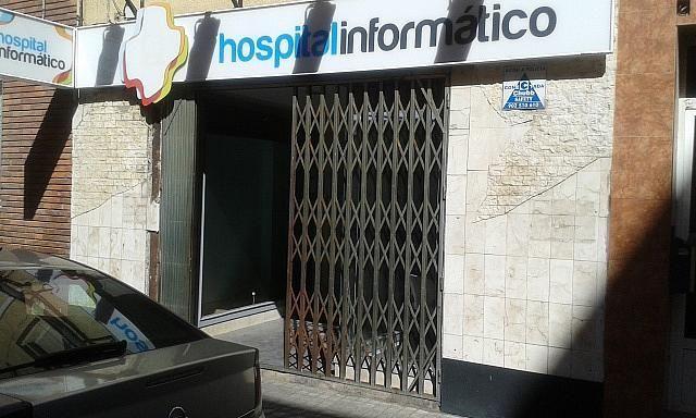 Fachada - Local en alquiler en calle Reina Felicia, La Almozara en Zaragoza - 298610354