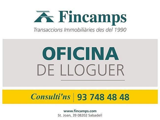 Oficina en alquiler en Centre en Sabadell - 416220880