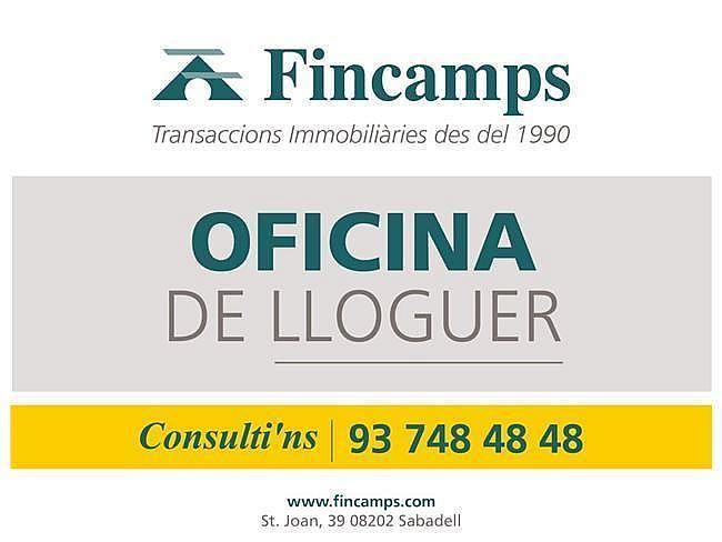 Oficina en alquiler en Centre en Sabadell - 416220883