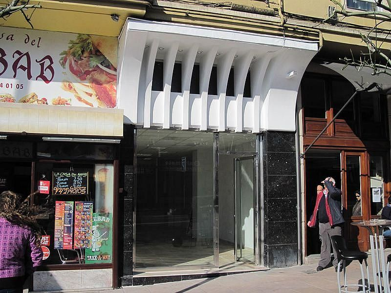 Fachada - Local comercial en alquiler en calle Jerónimo Sainz de la Maza, Cuatro Caminos en Santander - 249988269
