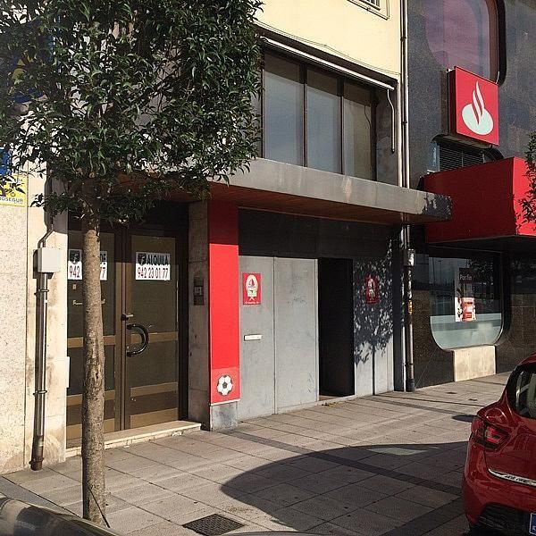 Fachada - Local comercial en alquiler en calle Castilla, Santander - 168738786