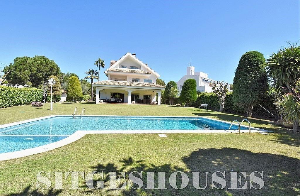 Vistas - Casa en alquiler en calle Josep Planas I Robert, Terramar en Sitges - 263611448