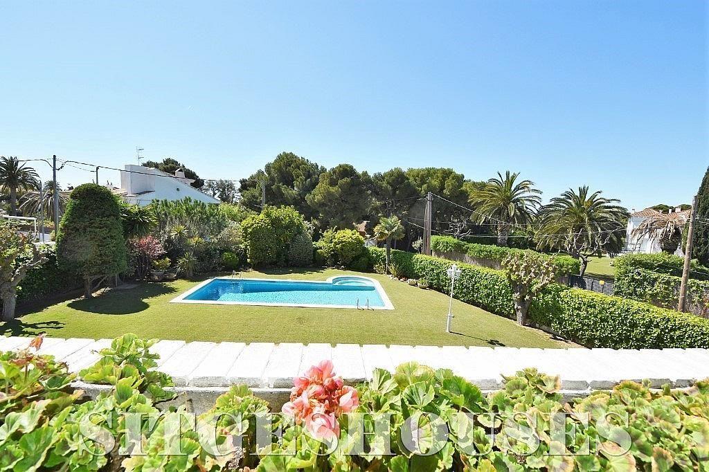 Vistas - Casa en alquiler en calle Josep Planas I Robert, Terramar en Sitges - 263611450