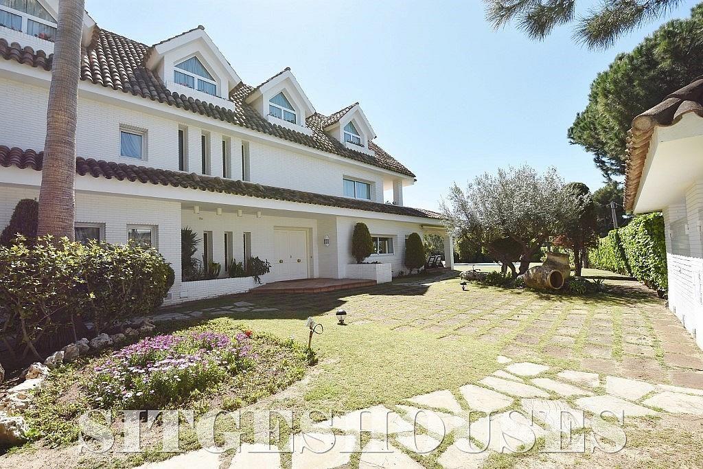 Fachada - Casa en alquiler en calle Josep Planas I Robert, Terramar en Sitges - 263611451