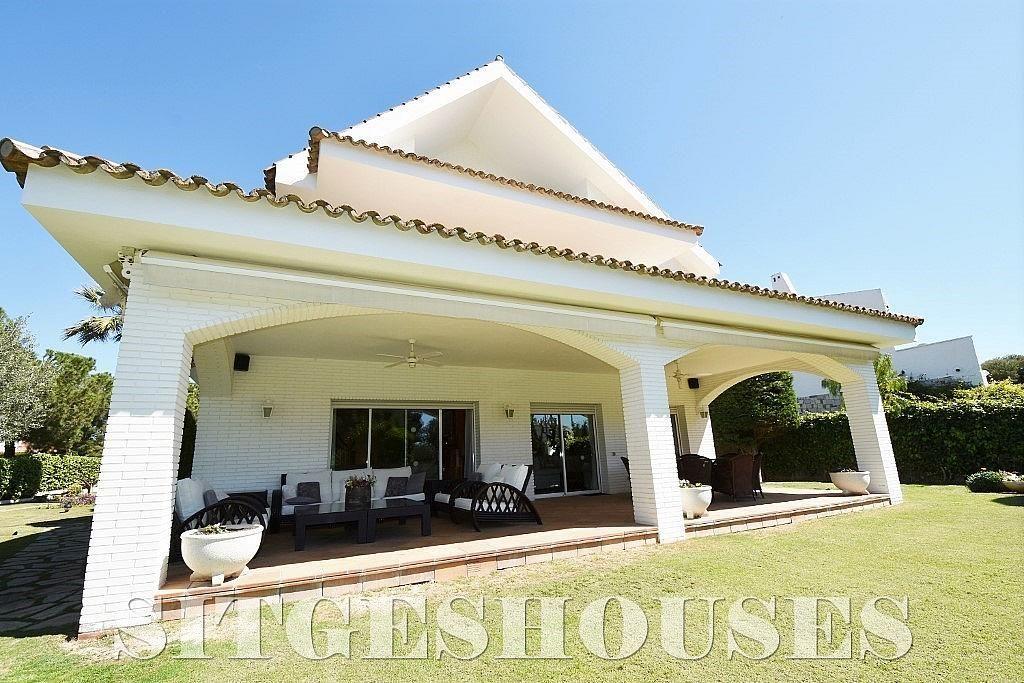 Fachada - Casa en alquiler en calle Josep Planas I Robert, Terramar en Sitges - 263611461