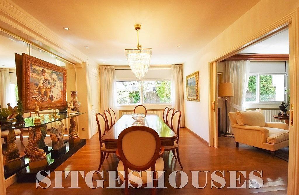 Comedor - Casa en alquiler en calle Josep Planas I Robert, Terramar en Sitges - 263611535