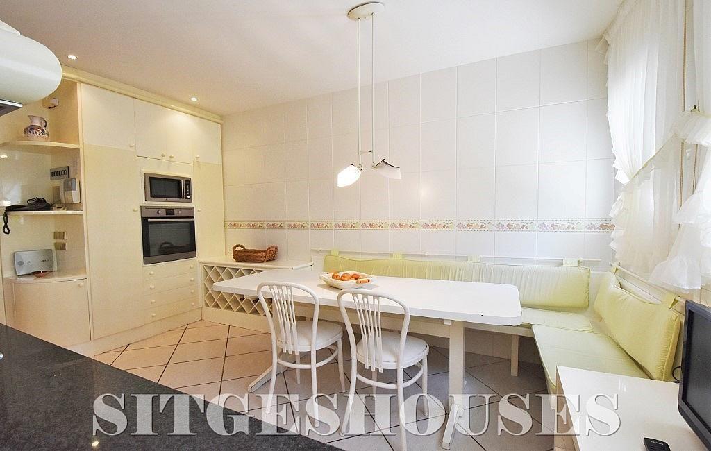 Cocina - Casa en alquiler en calle Josep Planas I Robert, Terramar en Sitges - 263611543
