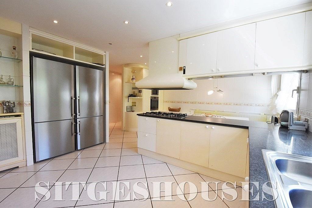 Cocina - Casa en alquiler en calle Josep Planas I Robert, Terramar en Sitges - 263611544