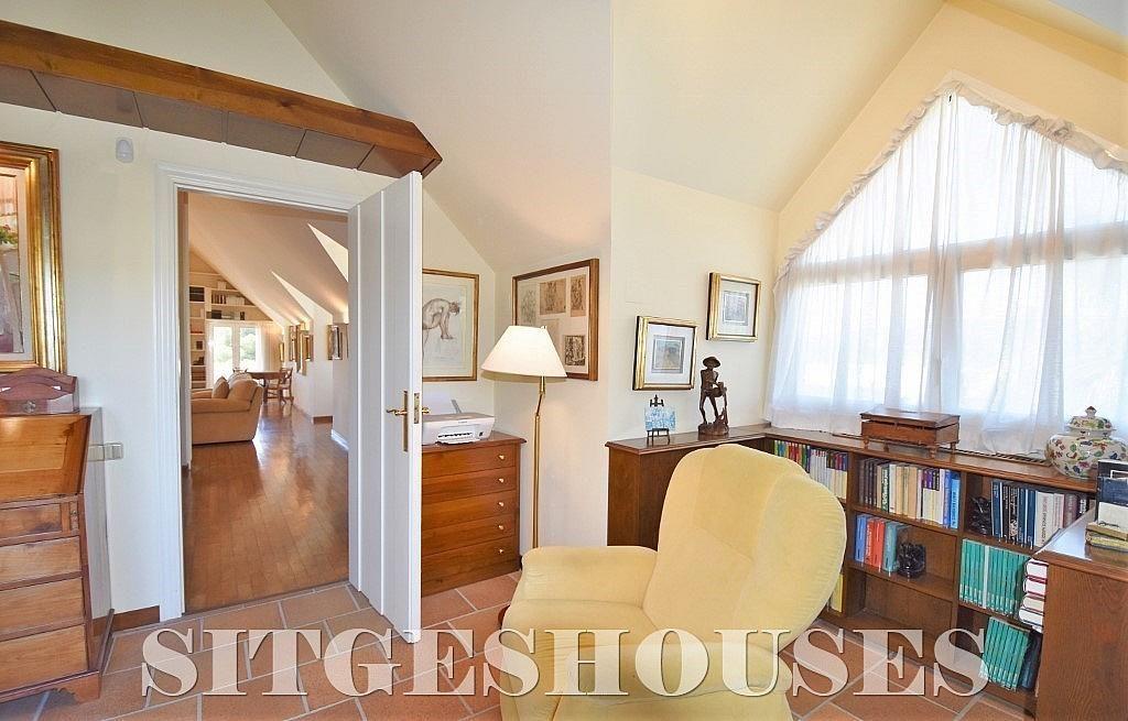 Despacho - Casa en alquiler en calle Josep Planas I Robert, Terramar en Sitges - 263611553