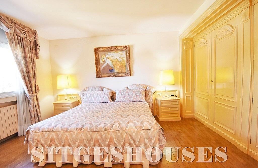 Dormitorio - Casa en alquiler en calle Josep Planas I Robert, Terramar en Sitges - 263611562