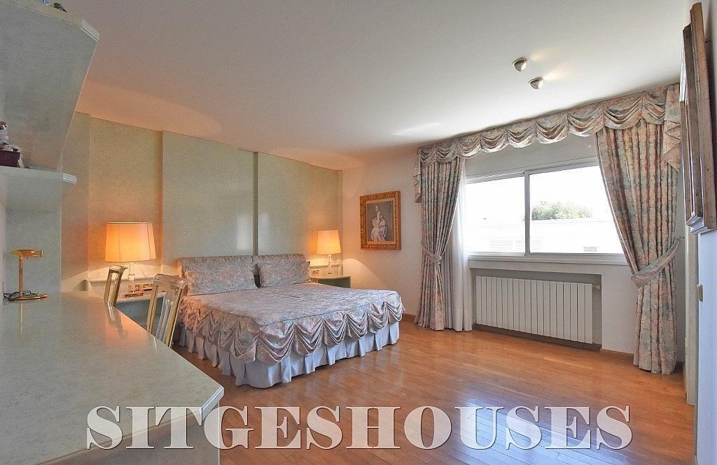 Dormitorio - Casa en alquiler en calle Josep Planas I Robert, Terramar en Sitges - 263611573