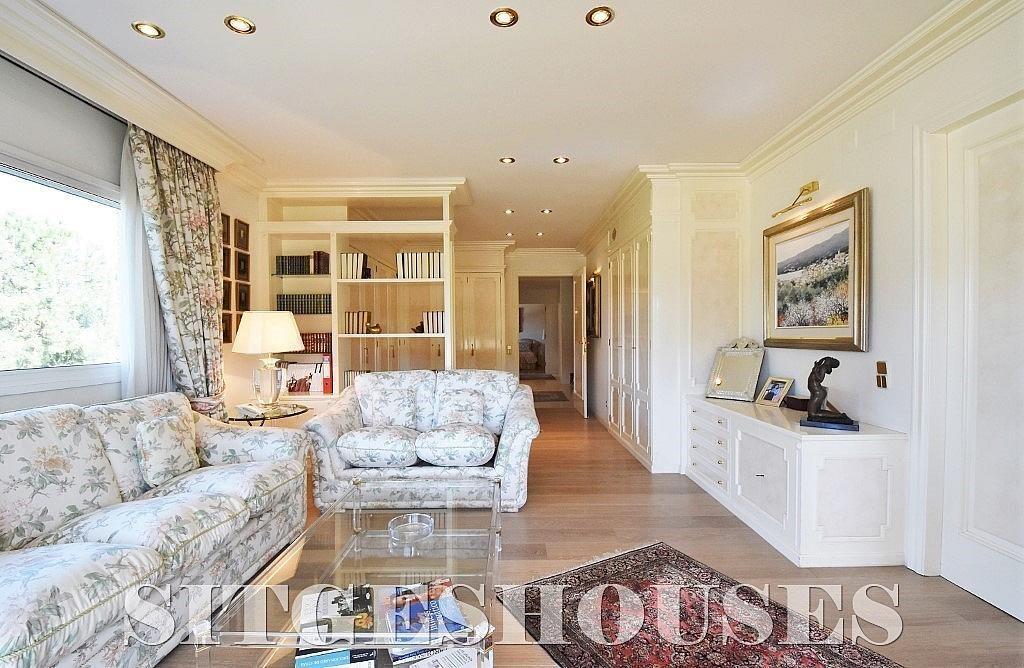 Dormitorio - Casa en alquiler en calle Josep Planas I Robert, Terramar en Sitges - 263611581