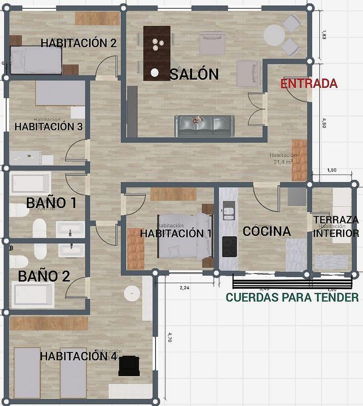 Apartamento en venta en Brihuega