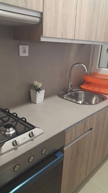 Cocina - Apartamento en alquiler de temporada en calle Cadaques, Llançà - 180801925