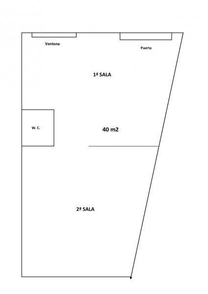 Plano - Local comercial en alquiler en calle Albufera, Beniparrell - 123663215
