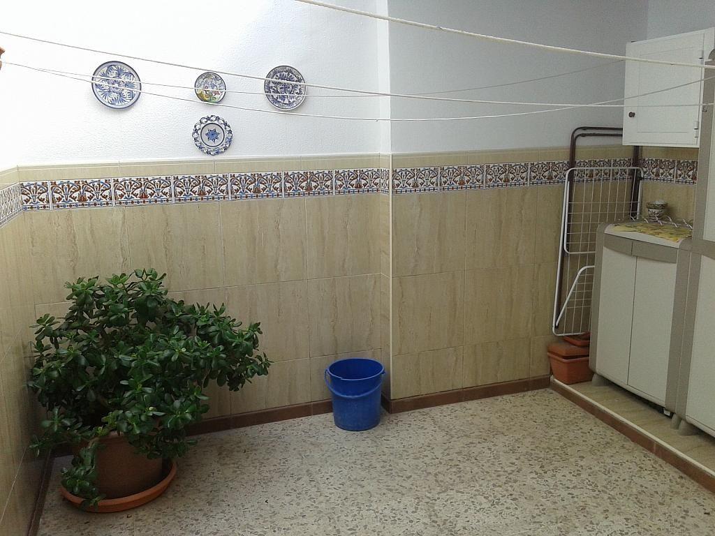 Patio - Dúplex en alquiler en calle Virgen de Fatima, Chipiona - 381977923