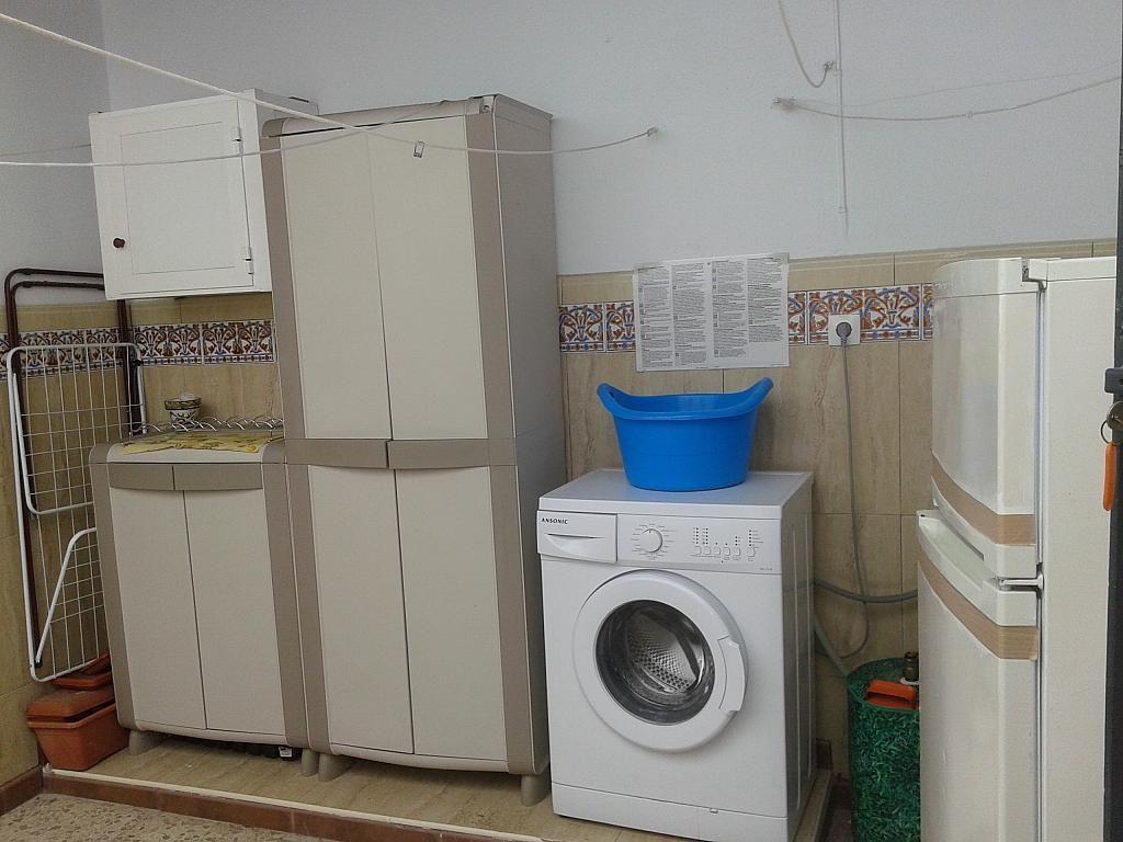 Patio - Dúplex en alquiler en calle Virgen de Fatima, Chipiona - 381977931