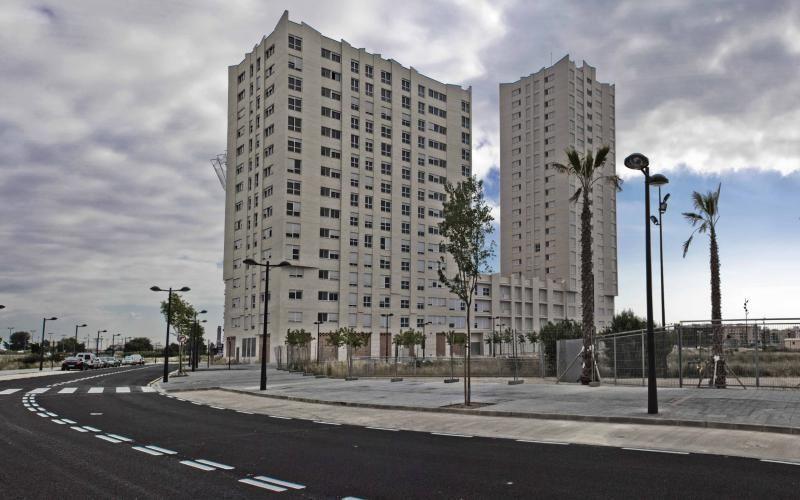 Fachada - Piso en alquiler opción compra en calle Ep Barraques de Llacer, La Torre en Valencia - 1070215